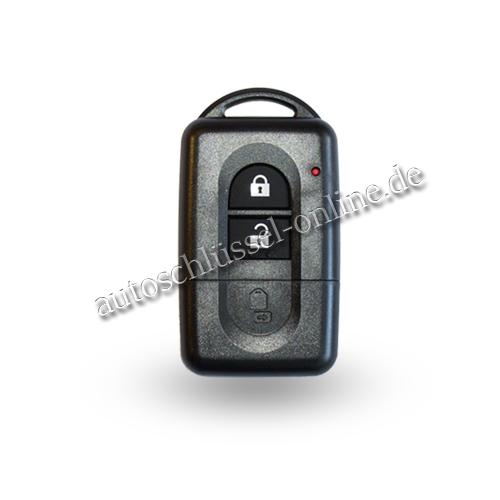 Nissan Primastar Interstar Funkschlüssel  Funk Fernbedienung Schlüssel 2 Tasten